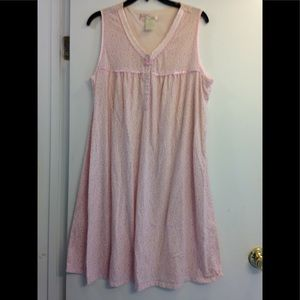 Floral embroidered nightgown XL